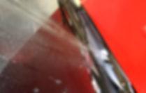 windscreen washer spray