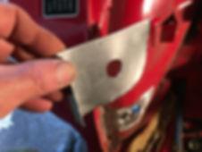lancia delta repair panel