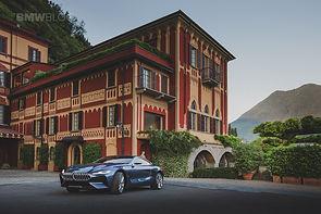 new 8 series at Villa D'este