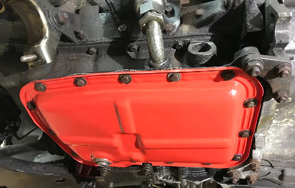 lancia delta integrale red sump
