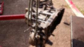 lancia delta gearbox removal