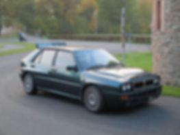 Lancia Delta Derby Green Evo 1