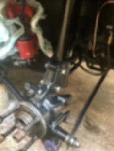 Integrale rear hub