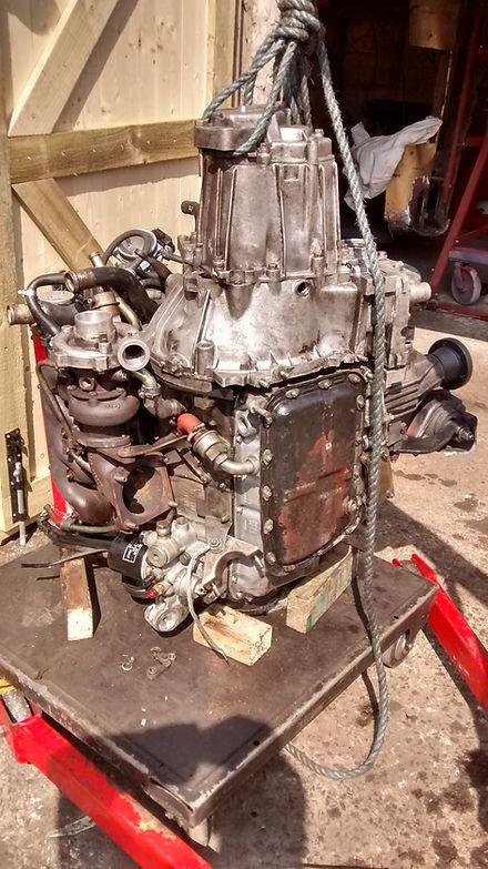 integrale engine on end