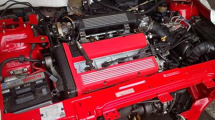lancia delta engine cam cover