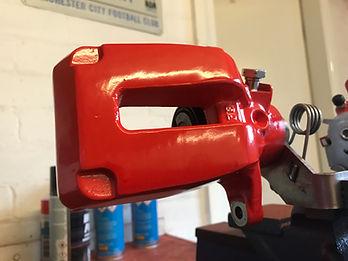 rear caliper repaint