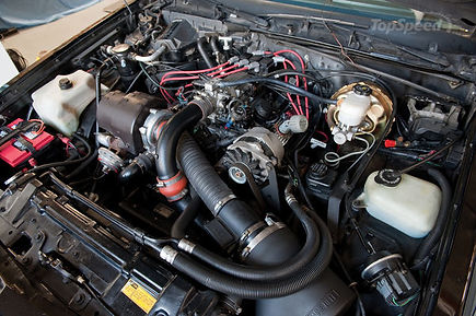buick grand national engine bay