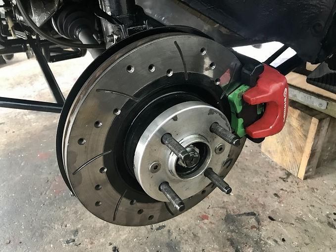 Lancia Delta back brake