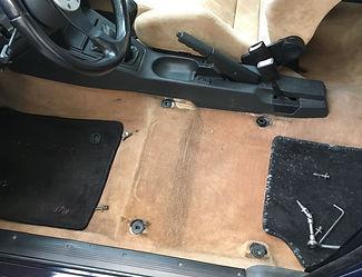 Lancia Delta seat repair