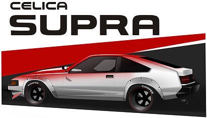 Celica Supra MA61 styling
