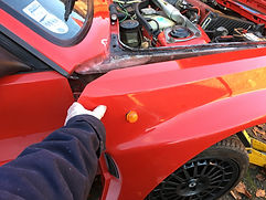 removing integrale wing