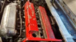 Lancia Delta cam cover