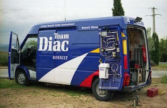 Team Diac Master van