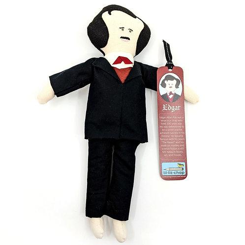Edgar Allen Poe Doll