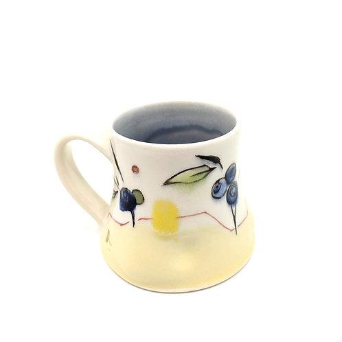Blueberry/Abstract Mug
