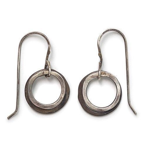 Contrast Hoop Earrings