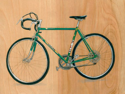 Bicycle #21 (Green)