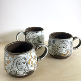 Lady Knight Mugs_Caitlin Reynolds