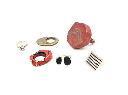 Various Rings-Sold Separately