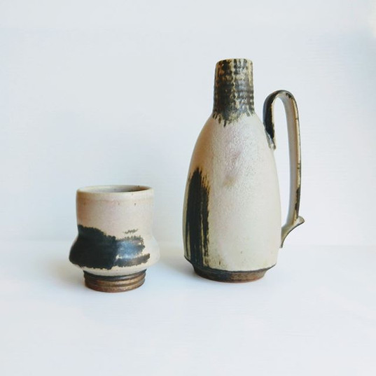 _My recent ceramic works deal with ideas