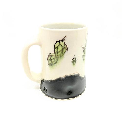 Beer Hop/ Abstract Brushstroke Mug
