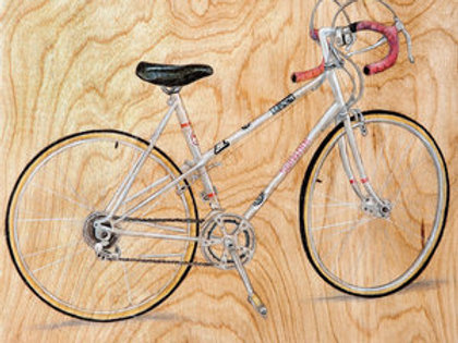 Bicycle #12 (White)