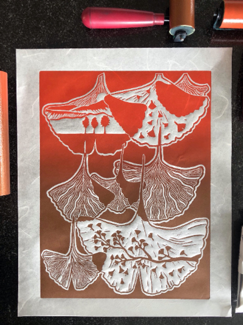 Terra Cotta Ginkgo, Limited Edition Prints