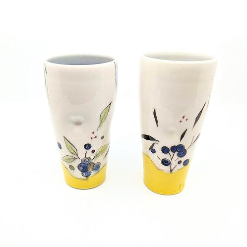 Blueberry Tumblers/Vases