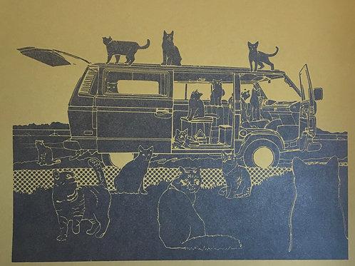 Party Van Print
