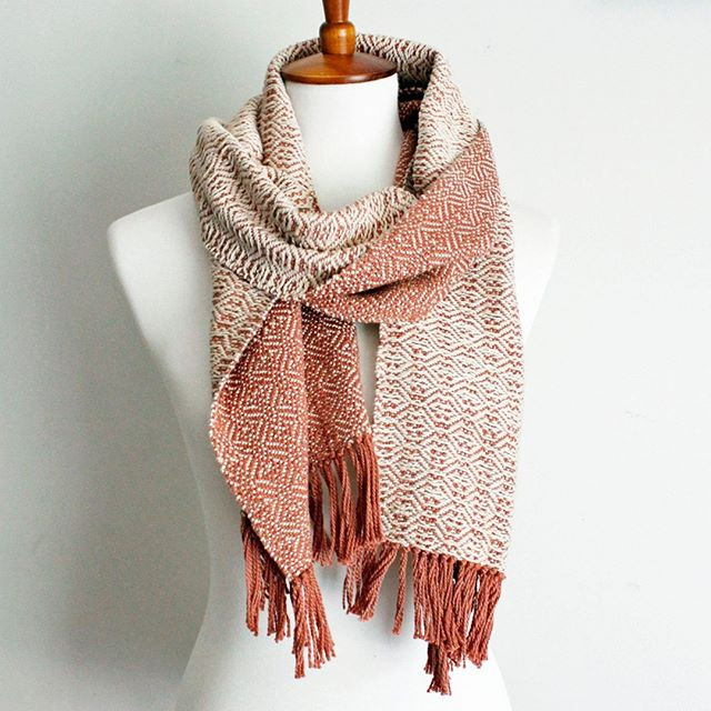 (SOLD) Bundle up in this beautiful hand