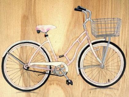 Bicycle #5 (Pink)