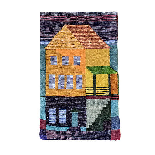 Underwater House Tapestry
