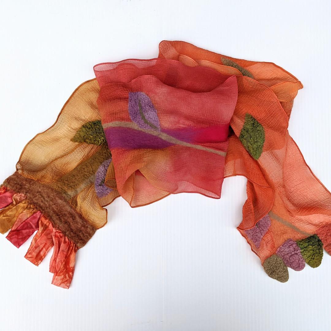 Handmade Scarf, Judy Ott