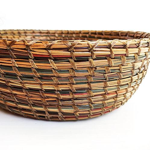 Small Pine Needle Basket