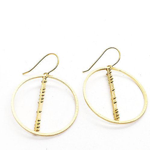 Rotating Orbit Earrings