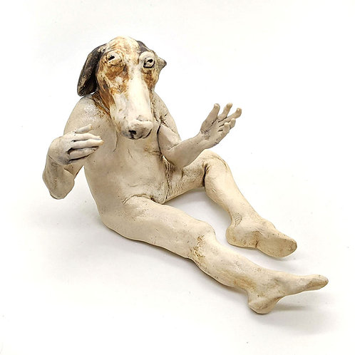 Dog Man Figure