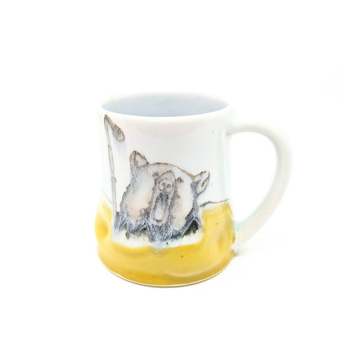 Rockstar Bear Mug
