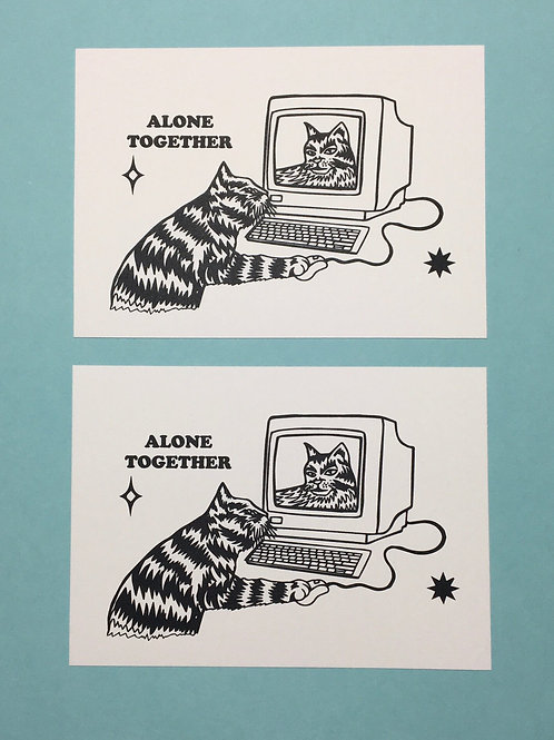 Alone Together (BFF Prints Pack of 2)