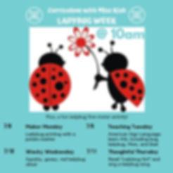 Ladybug Week