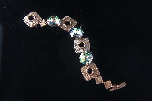 SWAROVSKI CRYSTAL BRACELET, Bridal Jewelry, Wedding Jewelry /CR1020