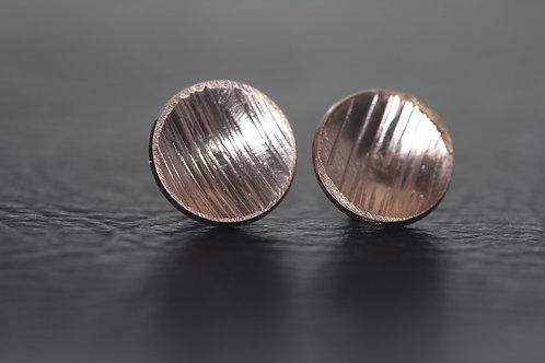 ROSE GOLD STUD EARRINGS,  Anniversary Gift, Stud earrings /ST1010