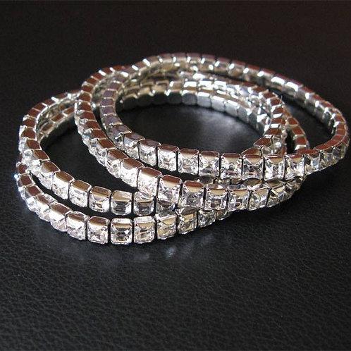 Crystal Tennis Bracelet - each $45.00