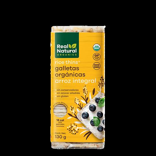 Rice Thins Galletas Orgánicas de Arroz Integral