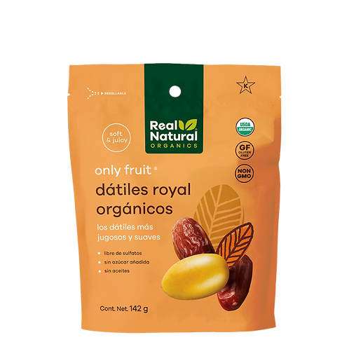 Only Fruit Dátiles Royal Orgánicos