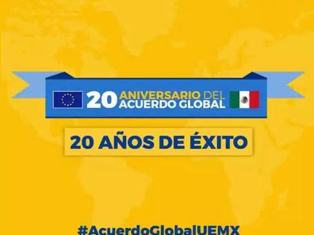 16/12/2020: 20 años del Acuerdo Global México – Unión Europea