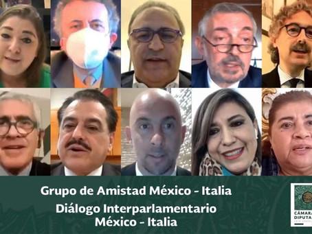 11/12/2020 Diálogo Interparlamentario México – Italia