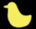 ícono pájaro