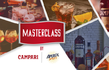 "MASTERCLASS BY CAMPARI: ""CÓCTELES ITALIANOS"""