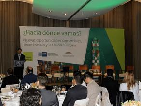 Nuevas oportunidades comerciales entre México y la Unión Europea, Desayuno Conferencia