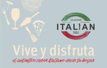 """CONFERENCIA DE PRENSA ONLINE LANZAMIENTO """"THE AUTHENTIC ITALIAN TABLE"""" Y PÁGINA WEB """"SABOR A ITALIA"""""""